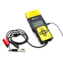Geko akkumulátor diagnosztikai teszter nyomtató funkcióval