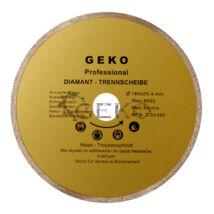 Geko gyémánttárcsa 180mm (csempéhez, folyamatos vágóéllel)