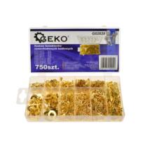 Geko autós kábelcsatlakozó szett, 750db