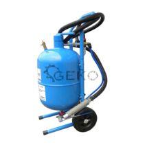 GEKO homokfúvó gép 19 literes tartállyal