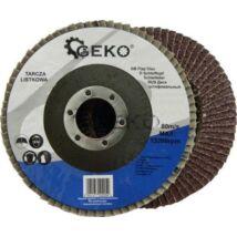Geko lamellás csiszolótányér, P60, 115mm