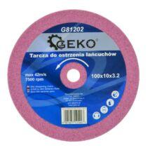 Geko köszörűkorong 100x10x3.2mm