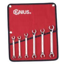 Genius Tools fékcsőkulcs készlet, 9-21 mm, 6 db-os
