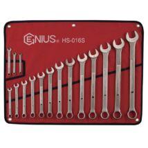 """Genius Tools csillag-villás kulcs készlet, 1/4"""" - 1-1/4"""", 16 db-os"""