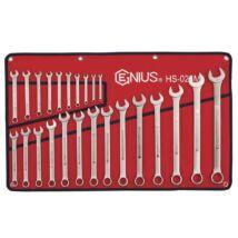 Genius Tools csillag-villás kulcs készlet, 6-32 mm, 24 db-os