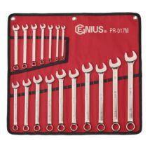 Genius Tools Csillag-villás kulcs készlet, 6-22 mm, 17 db-os