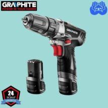 Graphite 58G210 Akkus fúró-csavarozó 2x10.8V