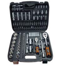 """Black Tools szerszámkészlet 1/2""""&1/4"""" 4-32mm (108db-os)"""