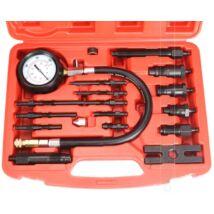 Kompressziómérő dízel motorokhoz 0-70bar (17db-os)