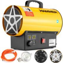 LCD-GH-15M gázüzemű ventilátoros hőlégfúvó, 25kW