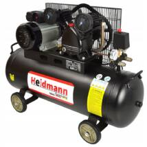 Heidmann kompresszor, 100L, 8bar