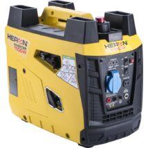 Heron digitális szabályzású benzinmotoros áramfejlesztő, 1.0kVA, 230V