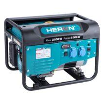 Heron benzines áramfejlesztő, egyfázisú, 2.8kW