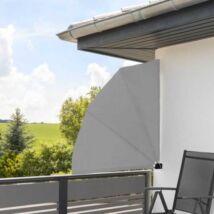 HOP1000937-1 Legyező árnyékoló erkélyre 140cm, szürke