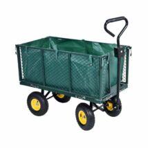 Fém kerti kézikocsi, 350kg teherbírással