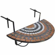 HOP1000929-2 Lehajtható balkon asztal, barna