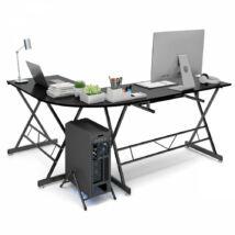 L alakú irodai asztal