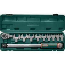 Jonnesway Nyomatékkulcs 11db készlet 12-30mm villásfej 40-200Nm T102001S