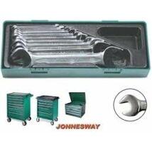 Jonnesway Tálcás villáskulcs 10 darabos készlet