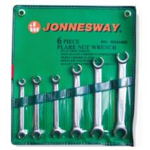 Jonnesway W24106S Profi Fékcsőkulcs Készlet 8-19mm 6db-os