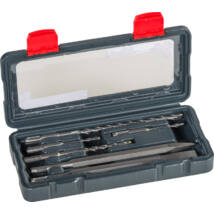 KWB SDS Plus POWER BOX fúró, és vésőszár készlet 6 db kofferban