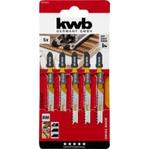 KWB PROFI BIM Bi-metal szúrófűrészlap 5 db, 83/60 mm