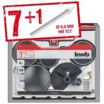 KWB PROFI TCG koronafúró klt. (7+1db-os)