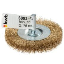 KWB PROFI réz fonott drótkorong lapos 0,2x75 mm