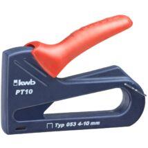 KWB PROFI BLUE TACK PT10 kézi tűzőgép 4-10mm
