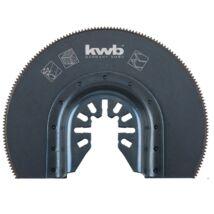 KWB PROFI HSS multi-szerszám félkör vágópenge 87mm