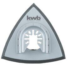 KWB PROFI multi-szerszám tépőzáras delta pad 93mm