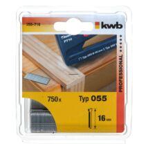KWB PROFI extra erős tűzőgép szeg 2x30 mm (500db)