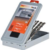 KWB PROFI SDS PLUS betonfúró készlet 5-10 mm 110/160 mm (7db-os)