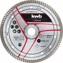 Einhell KWB gyémánt vágókorong, 200x25, 4 mm turbo