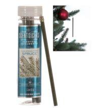 Illatpálca - zöld fenyő illatú (6db-os)