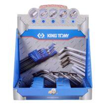 King Tony Papír bemutatóállvány L-kulcshoz