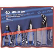 King Tony 4 részes fogókészlet