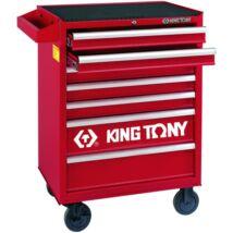 King Tony 7 fiókos szerszámoskocsi 286db-os szerszámkészlettel