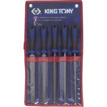 King Tony 5 részes reszelő készlet 200 mm nyelezett