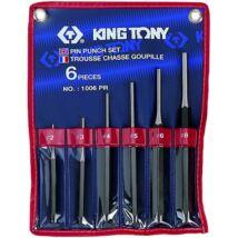 King Tony 6 részes csapkiütő készlet (2.3.4.5.6.8 mm)