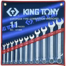 King Tony 11 részes csillag-villáskulcs készlet 8-24 mm