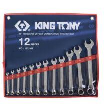 King Tony 12 részes csillag-villáskulcs készlet 6-22 mm