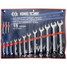 King Tony 15 részes csillag-villáskulcs készlet 6-32 mm