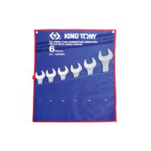 King Tony 6 részes csillag-villáskulcs készlet 34-50 mm