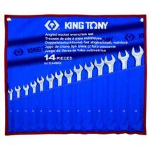 King Tony 14 részes ultra könnyű csillag-villáskulcs készlet 8-24 mm