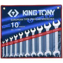 King Tony 10 részes villáskulcs készlet 6-28 mm