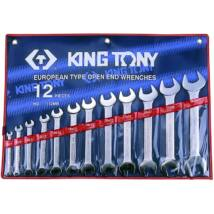 King Tony 12 részes villáskulcs készlet 6-32 mm