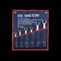 King Tony 6 részes fékcsőkulcs készlet coll 5/16-7/8˝-ig