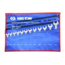 King Tony 12 részes villáskulcs készlet 6-32mm