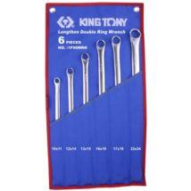 King Tony 6 részes egyenes csillagkulcs készlet extra hosszú nyél